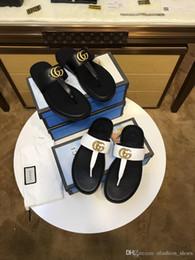 Good Quality Flip Flops Australia - good quality Men Sandals Designer Shoes Luxury Slide Summer Fashion Wide Flat Slippery With Thick Sandals Slipper Flip Flop best shoes wsed