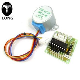 longteng 28YBJ-48 DC 5V 4 Phase 5 Wire Stepper Motor With ULN2003 Driver Board Best Price