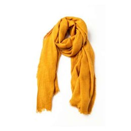 $enCountryForm.capitalKeyWord UK - Ladies Soft Large Bandana Winter Mustard Scarves For Women Cashmere Feel Pashmina Scarf Shawl And Wrap