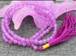 $enCountryForm.capitalKeyWord Australia - necklace Free shipping ++++new 6mm stone Buddhist Rose Jade 108 Prayer Beads Mala Bracelet Necklace