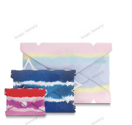 girls envelope wallet NZ - Designer Purse Top Quality Envelope Clutch Bag Women Fashion Trend Bags Wallet Bags With Box And Dust Bag 3 Pieces Combination Free Shipping