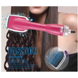 $enCountryForm.capitalKeyWord Australia - Multi-function household Blow Electric Hair Dryer Brush Multi Function Hot Air Brush Hair Curling Iron Rotating Hairdryer Comb