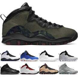 Wholesale camo box online – oversize 10 Men Basketball Shoes s Desert Camo Cement Woodland Camo Orlando Tinker Mens Trainer Athletic Sports Sneakers Size