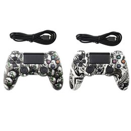 $enCountryForm.capitalKeyWord Australia - Wired Controller for PS4 Vibration Joystick Gamepad PS4 Game Controller for Sony Play Station Private Model Gamepad skull Girl high quality