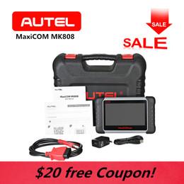 $enCountryForm.capitalKeyWord Australia - AUTEL MK808 MaxiCom WiFi OBD2 Car Diagnostic Scanner Tool Touchscreen Android Key programming Tablet SAS BMS Auto Code Reader