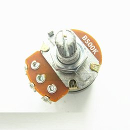 $enCountryForm.capitalKeyWord UK - WH138 single three-pin potentiometer B500K B504 with switch dimmer switch handle length 15mm
