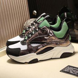 $enCountryForm.capitalKeyWord Australia - Luxury Men Shoes Casual Chaussures pour hommes Designer Lightweight Comfortable Fashion Shoes for Men Lace-Up Zapatos de hombre B22 Sneaker