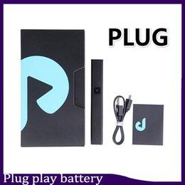 Play battery online shopping - Hot selling Exotics DNA Plug Play Battery mAh pod battery kit Lipo E Cigarette Vape Pen Battery for Empty Pods