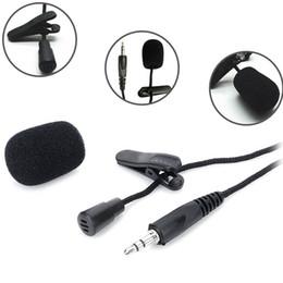 $enCountryForm.capitalKeyWord NZ - Clip-on Lavalier Microphone 3.5mm Jack Wired Condenser Microphone Mic Yaka Mikrofonu for Smartphones Laptop Micro Cravate