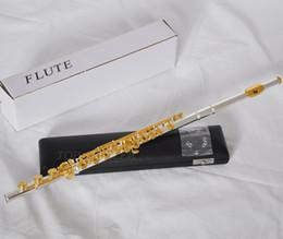 $enCountryForm.capitalKeyWord Australia - Standards Flute Gold Key Silver Body Flutes 17 Holes C key E Split Closed Open Holes