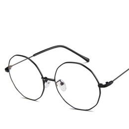 $enCountryForm.capitalKeyWord UK - VA56 Fancy Round Eyeglasses Frames Antique Blue Ray Glasses Polygon Irregular Full Rim Metal Quality Free Shipping Drop Ship Global Country
