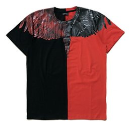$enCountryForm.capitalKeyWord Australia - 2019 designer clothes yin and yang color wings T-shirts for young men and women to commemorate fashion tide goods wholesale