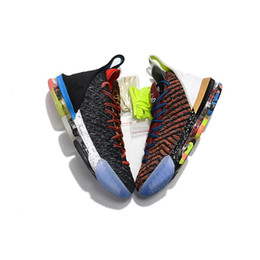 flower shoes kids NZ - what the lebron 16 women basketball shoes for sale flowers MVP Christmas BHM Oreo youth kids Generation mens boots with original box