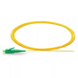 fiber optic pigtails Australia - LC  APC Single mode fiber optic Pigtail 9 125 Single Mode Optical fiber pigtail 0.9mm