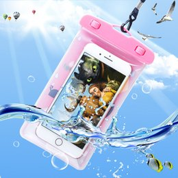 $enCountryForm.capitalKeyWord Australia - Cute Cartoon Waterproof Pouch Cover For iPhone XR XS 8 7 6 6S Plus Samsung Galaxy S8 S9 Underwater Dry Bag Swimming Water Proof Phone Case