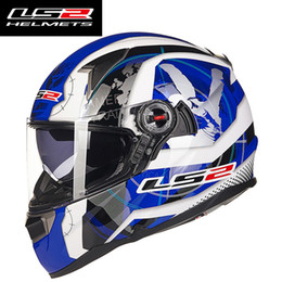$enCountryForm.capitalKeyWord NZ - Genunie LS2 ff396 Glass fiber full face motorcycle helmet 100% original cascos moto LS2 helmet ECE