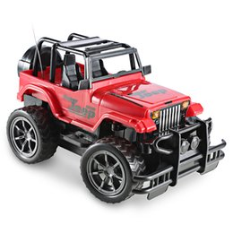 suv remote control car UK - Electric 1 :24 Rc Car Super Big Remote Control Car Road Vehicle Suv Jeep Off -Road Vehicle 1  16 Radio Control Car Electric Toy Dirt Bike