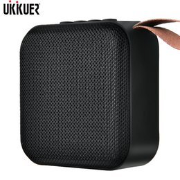 Vente en gros Portable Bluetooth Haut-Parleur Mini Sans Fil Haut-Parleur Système de Son 10 w Stéréo Musique Surround Enceinte En Plein Air Support Fm Tfcard T190704