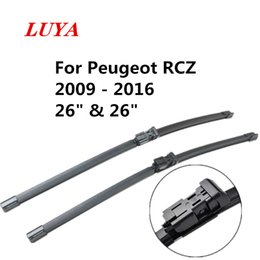 "peugeot blade UK - LUYA wiper Blade in Car windshield wiper For Peugeot RCZ (2009 - 2016) size:26"" & 26"""