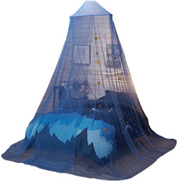 Mosquito Netting Curtains UK - Kids Decoration Girl Room Decor Moustiquaire Pour Double Bed Curtain Hanging Ciel De Lit Mosquitera Canopy Klamboe Mosquito Net