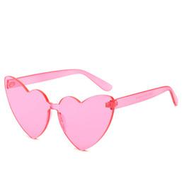 5fce18eb81 Candy colors Heart Sunglasses Women Brand Designer Cat Retro Love Heart  Shaped Eyewear Girl UV400 Sun Glasses Outdoor Party FML