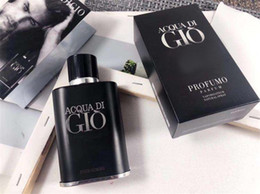 New liviNg oils online shopping - New Professional ML Men Perfume GIQ Intense Men Parfum Natural Spray Black Bottle Male Fragrance Seductive Sensual Acqua ID