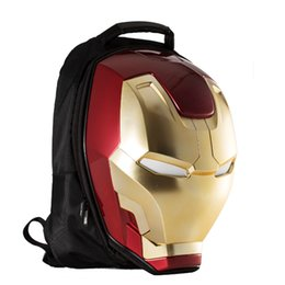 Sky college bagS online shopping - Iron Man Men s Backpack Fashion Trend  package Men s cc35e2971d78e