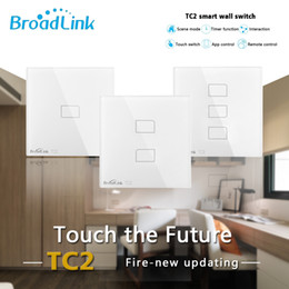 $enCountryForm.capitalKeyWord NZ - Broadlink TC2 WiFi Switch UK EU 1 2 3 Gang Light Switch Touch Panel Smart Home IR+RF Remote Control work with Alexa Google Home