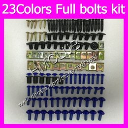 honda vfr interceptor fairings UK - Fairing screws Full bolts kit For HONDA VFR800 Interceptor 98 99 00 01 VFR 800 VFR800RR 1998 1999 2001 MC116 OEM Body Nuts bolt screw Nut