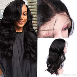 Discount hairstyles for long wavy hair - Long Wavy Lace Front Wigs Human Hair For Black Women Virgin Peruvian Glueless Pre Plucked Lacefront Full Lace Wig With B