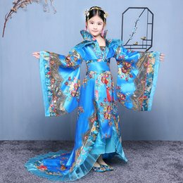 $enCountryForm.capitalKeyWord NZ - Traditional Royal Dramaturgic Chinese Ancient Costume for Girls Tang Dynasty Court Princess Fairy Drag Tail Dance Costume