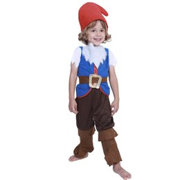 cute girl costumes for halloween Canada - halloween costumes for kids Baby cute Girl kids costume halloweens mushroom elf costumes Boy Child Christmas Cosplay