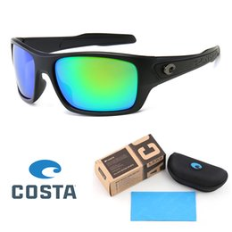 Wholesale High Quality Brand designer COSTA sunglasses Men women Summer sunglass UV400 lens Sport Sun glasses mens sunglass golden with Retail box