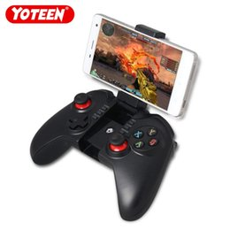 $enCountryForm.capitalKeyWord Australia - Yoteen Wireless Bluetooth 3.0 Joystick Gamepad Gaming Controller Remote Control with 6 Inch Telescopic Holder for Mobile Phone