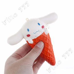 $enCountryForm.capitalKeyWord Australia - kawaii Big ear rabbit Ice cream slow rising Squishy charm squeeze toy Gift for Kids Decompression Toy