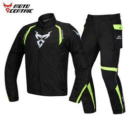 $enCountryForm.capitalKeyWord Australia - MOTOCENTRIC Motorcycle Jacket Man Set Windproof Riding Moto Waterproof Motorbike Jacket + Pants Suit Body Armor Moto Protection,jk1801