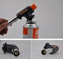 Metal Area Australia - Card spray gun wholesale large area straight into the fire gun pulse line high outdoor barbecue dedicated electronic ignition spray gun head