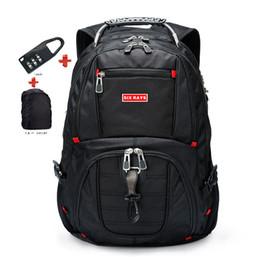 SwiSS backpackS online shopping - Swiss Laptop Inch Backpack External Swiss Computer Backpacks Anti theft Backpack Waterproof Bags For Men Women Backpack