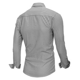 $enCountryForm.capitalKeyWord NZ - Fashion Designer T-Shirts for Mens Sweatshirts Spring Striped Mens Tee Shirt Long Sleeve Casual Men Tops Clothing 2 Colors M-3XL Wholesale
