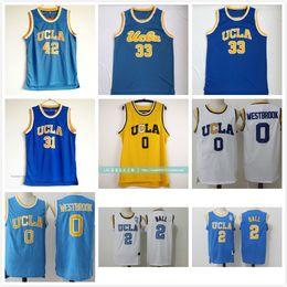 57e6feaaa666 UCLA Bruins Jersey College Basketball Russell Westbrook Lonzo Ball Zach  LaVine Kareem Abdul Jabbar Reggie Miller Bill Walton Kevin Love Blue