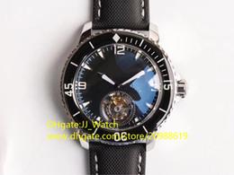 Опт Роскошные мужские часы Real Tourbillon Автоматические наручные часы из нержавеющей стали 316L Сапфировое зеркало Диаметр 45 мм Нейлоновый ремешок Водонепроницаемые швейцарские часы