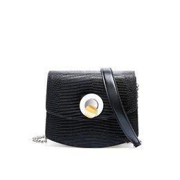 Genuine Cowhide Shoulder Leather Bags UK - Four seasons genuine leather lady's bag lizard print one shoulder handbag cowhide cross-body fashion small square bag