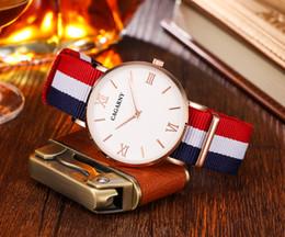 Gold Display Case Australia - 52MM Big Case Quartz Watch For Men Classy Mens Wrist Watches Waterproof Dual Time Displays Military relogio masculino Male Clock