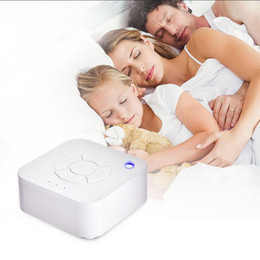 Wholesale White Noise Machine USB Rechargeable Timed Shutdown Sleep Sound Machine For Sleeping Relaxation For Baby Adult Office Travel