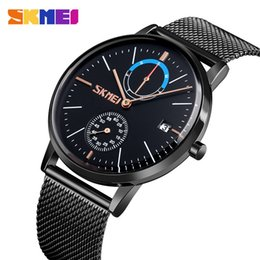 Network clocks online shopping - 2 Concise Network Bring Thin Section Will Clock Dial Business Affairs Post Market Man Quartz Watch