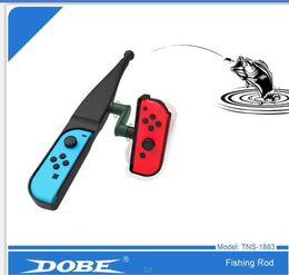 Dobe Formis Electronics Fishing Rod for N-swich Joy-con Fishing Rods 1pc Lure TNS-1883 Fishing Rod Drop Ship on Sale