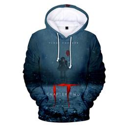 Hot 3d movies online shopping - Hot Movie it chapter Hoodies Sweatshirts Men Women Long Sleeve Autumn Winter pullover High Quality Hip hop Creative D Hoodie