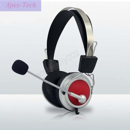 Cell Phones Dhl Shipping Australia - High Quality Stereo Bass Computer Gaming Headset Headphone Earphone With Microphone For PC Phone Computer Game for Gaming DHL free ship