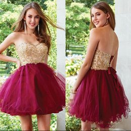 $enCountryForm.capitalKeyWord UK - Luxury Sweetheart Appliqued Beaded A-line Prom Dress Sleeveless Short Mini Lace-up Organza Pleated Homecoming Party Cocktail Gown