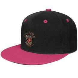 $enCountryForm.capitalKeyWord UK - Unisex adjustable snapback snapback hats adjustable The Rolling Stones Tour flat bill Baseball Cap Sandwich Trim Twill Cap